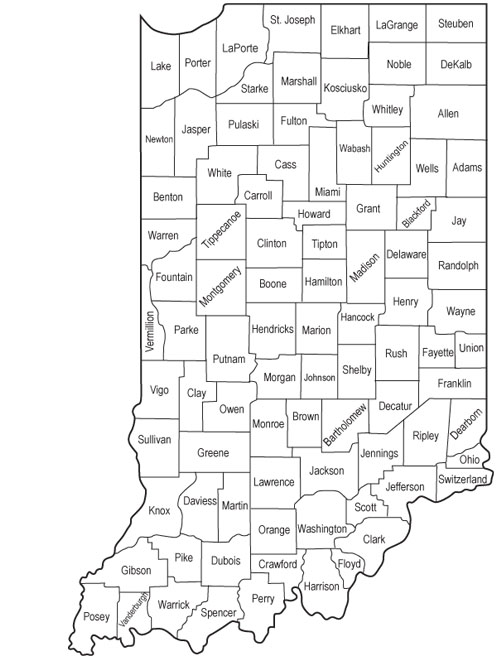 Indiana Counties