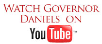 Watch Governor Daniels on YouTube