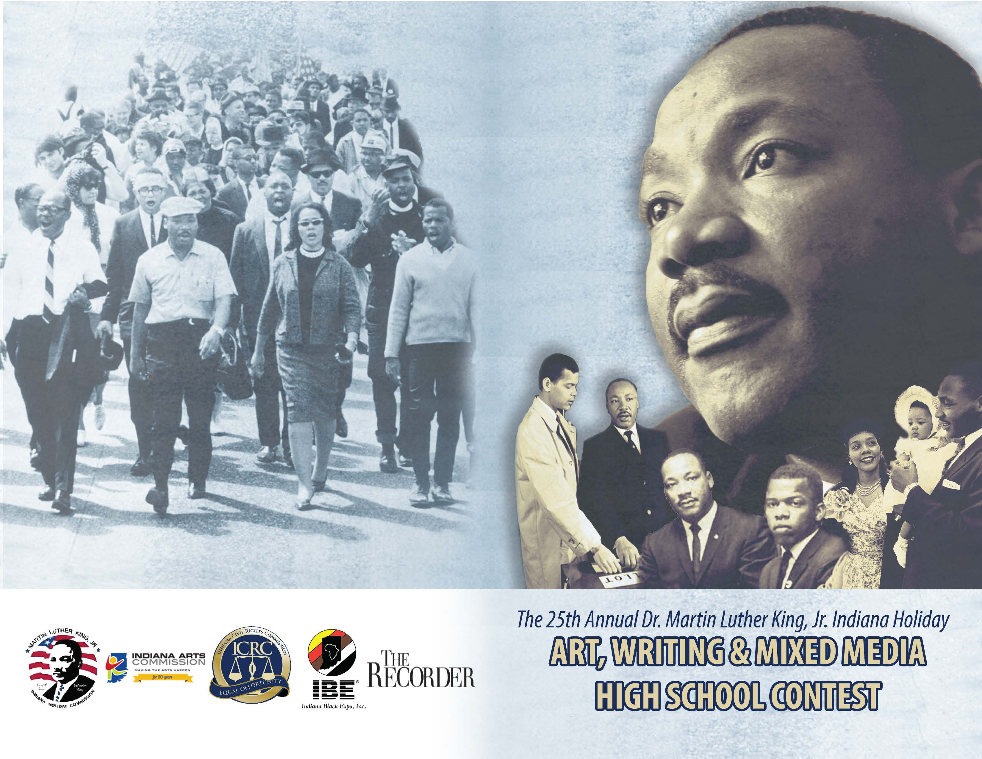 """dr. martin luther king jr. essay contest In a speech at cornell college in mount vernon, iowa, on oct 15, 1962, dr martin luther king jr expressed, """"i am convinced that men hate each other because they."""