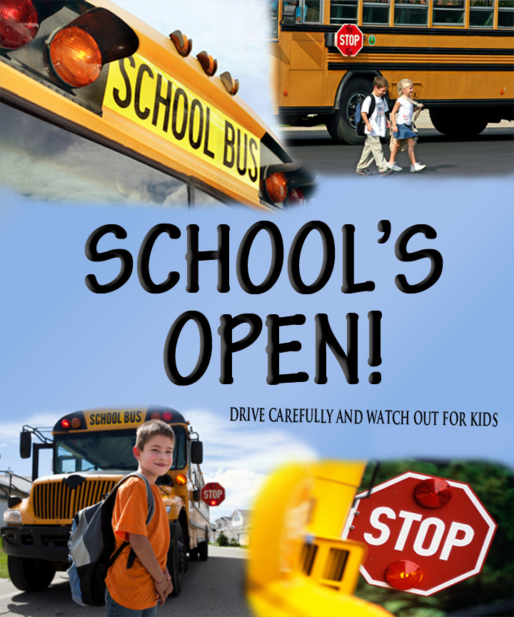 School's Open - Watch Out for Kids!