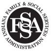Family and Social Services Administration Logo
